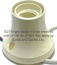 es lamp holder wiring es image wiring diagram e27 plastic batten holders es bakelite angle batten holder on es lamp holder wiring