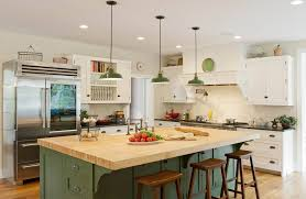 Impressive Modern Farmhouse Kitchen Design Greens C Intended Models