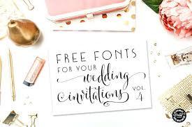Wedding Invitation Fonts Microsoft Word
