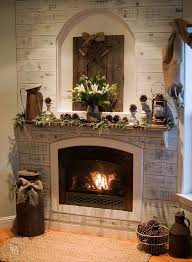 DIY Ideas To Decorate A Christmas Fireplace Mantel U2022 Our House Now Christmas Fireplace Mantel