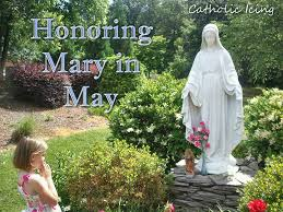 Image result for mother mary may