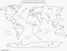 Kleurplaat In Het Engels Samples 7 Continenten Kleurplaat 2x Printen