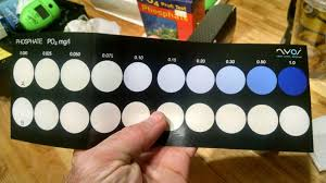 Phosphate Colour Chart Po4 Phosphate Test Kit Shoot Out Nyos Elos Pro Salifert
