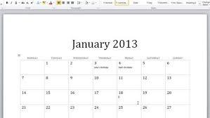 Creating Calendars In Word Barca Fontanacountryinn Com