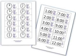 Telling Time Practice Sheets - Homeschool Den