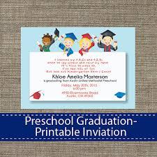 Preschool Graduation Announcements Pin By Sparklestudio On Graduation Graduation Invitations