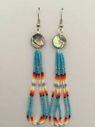 Native American Beaded Dream Catchers Beauteous Handmade Native American Beaded Earrings Earings Pinterest