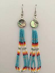 Native American Beaded Dream Catchers Beauteous Handmade Native American Beaded Earrings Earings Pinterest