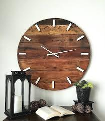 large wall clocks wooden wall clock modern wall clock modern home decor oversized wall clock wall clock
