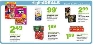stater bros digital deals aug 5 11