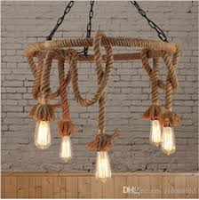 Inexpensive lighting fixtures Architectural Lighting Loft Nordic Retro Hemp Rope Pendant Light American Country Clothing Store Cafe Hanging Lamp Edison E27 Vintage Iron Pendant Lamp Fixture Inexpensive Twcdistributorsinfo Discount Lighting Fixtures Stores Lighting Fixtures Stores 2018 On