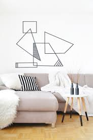 Wall Patterns With Tape Top 25 Best Tape Wall Ideas On Pinterest Tape Wall Art Washi