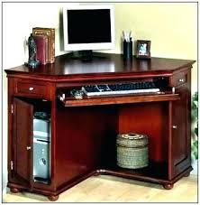 black corner computer desk walnut ter with drawers hutch wood small glass uk