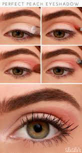 perfect peach eyeshadow tutorial