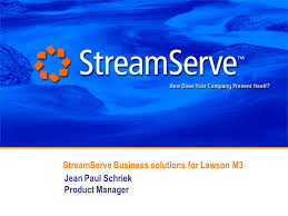 Lawson Perspective Charts Download Streamserve Business Solutions For Lawson M3 Ppt Video