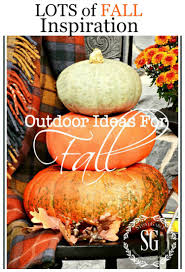 Outside Fall Decor Outdoor Ideas For Fall Decorating Stonegable