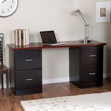 office desks with drawers. Square Black Staine Dwooden End Table Office Desks With Drawers