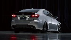 Lexus IS-F: Wald Sports Line Black Bison Edition New Photos