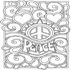 Small Picture Coloring Pages Love And Peace Maelukecom