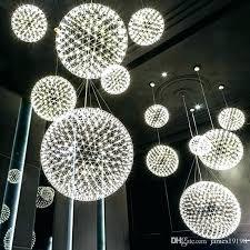 Cool Ceiling Lamps <b>Led Ball Modern Pendant</b> Lamp Firework ...