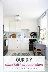 Our DIY White Kitchen Renovation: The Reveal! | Abby Lawson