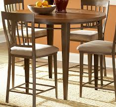 Wood And Metal Round Dining Table Homelegance Lemont 45in Wood And Metal Round Counter Height Dining