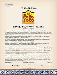 El Pollo Loco Nutrition Chart 424b4