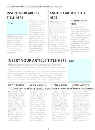 Open Office Newsletter Template Best Of Fresh Free Newspaper Template For Word Awesome News
