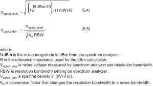 Hz To Watts Conversion Chart Resolution Bandwidth An Overview Sciencedirect Topics