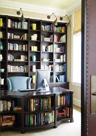 office library furniture. An Office/library Space Provides Plenty Of Shelving For Books And Special Artifacts. - Office Library Furniture