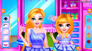 fun care princess makeover princess baby makeup spa salon kids games for s