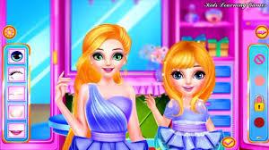 fun care princess makeover princess baby makeup spa salon kids games for s