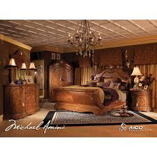 california king bed set. AICO 5pc Cortina California King Size Bedroom Set In Honey Walnut Finish Bed S
