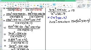 algebra fractions and solve equation hard part fraction equations worksheets algebraic worksheet difficult