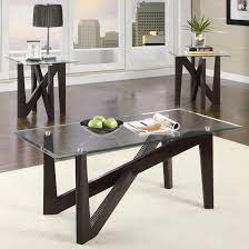 Today's contemporary coffee table sets come in a wide variety of colors, shapes, materials, and designs. Occasional Table Sets 3 Piece Table Sets By Coaster Sam Levitz Furniture Coaster Occasional Table Sets Dealer