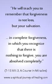 Quotes definition Definition Of Forgiveness In A Course In Miracles Forgiveness Quotes 98