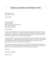 Sample Formal Letter Format Mesmerizing Job Offer Letter 48 Free Sample Example Format Premium Acceptance