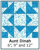 Free Paper Piecing Patterns Library & ... Aunt Dinah quilt block tutorial ... Adamdwight.com