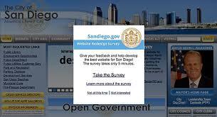 Big Ticket Item Revamping The City Of San Diegos Website