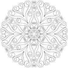 Coloring Pagesmandala Mandala Art Coloring Pages Printable Easy