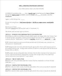 Simple Contractor Agreement Template Simple Independent Contractor Agreement Template