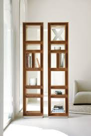 Fancy Bookcase in Canaletto Walnut - is a contemporary tall bookcase in  solid canaletto walnut with a chrome base. (Click the photo for more  information)