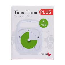 5 Mins Timer Time Timer Plus 5 Minute Productivity Timer Autism Clock