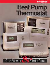 Honeywell Thermostat Cross Reference Chart Honeywell Heat 1cool T841a1563 Premier 2 Stage Thermostat