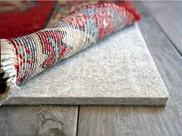 felt padding is typically used to provide extra comfort to a large heavy rug this type of padding is a thicker padding that is made to be a cushiony layer