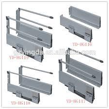soft close drawers box: kitchen soft close drawer slide system runner sliding drawer box from china supplier