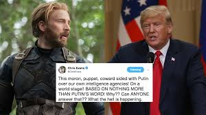 Captain America just put the president of America in his place, so that's  where we're at