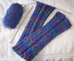 Cable Knit Scarf Pattern Delectable Cable Scarf Pattern The Knitting Site