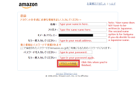 How To Create A Japanese Amazon Account Japan Codes