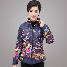 2018 middle aged women s winter coat jackets elegant young mother fashion short type zipper warmly coats jacket from raymond 35 18 dhgate com